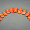 Carved Coral Link Bracelet, 19th Century
