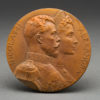 French Bronze Nicholas & Alexandra Commemorative Medal 1896