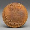French Bronze Nicholas & Alexandra Commemorative Medal 1896