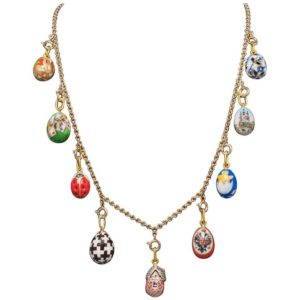 Russian Jewelry Eggs