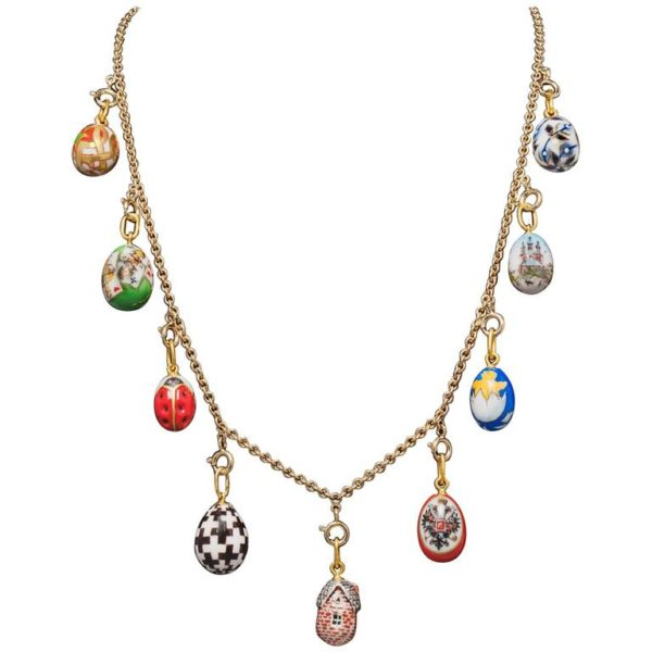 Russian Jewelry Eggs