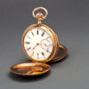 The KUTEPOV Gold Enameled Pocket Watch by Pavel BUHRE, circa 1900