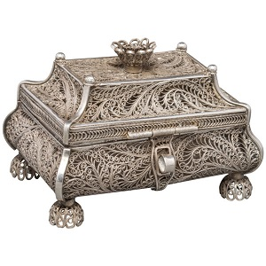 Russian Silver Filigree