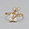English Pearl and Diamond Ring