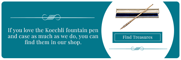 Find Koechli Pen and Case in our shop