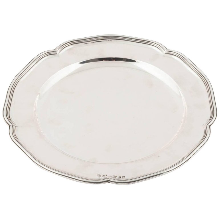 A Rare Catherine the Great Silver Plate