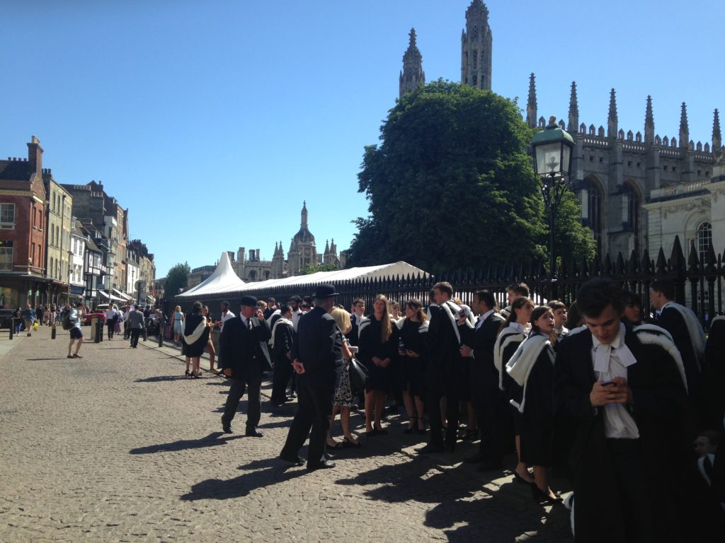 Graduation 2018 at Cambridge Senate House