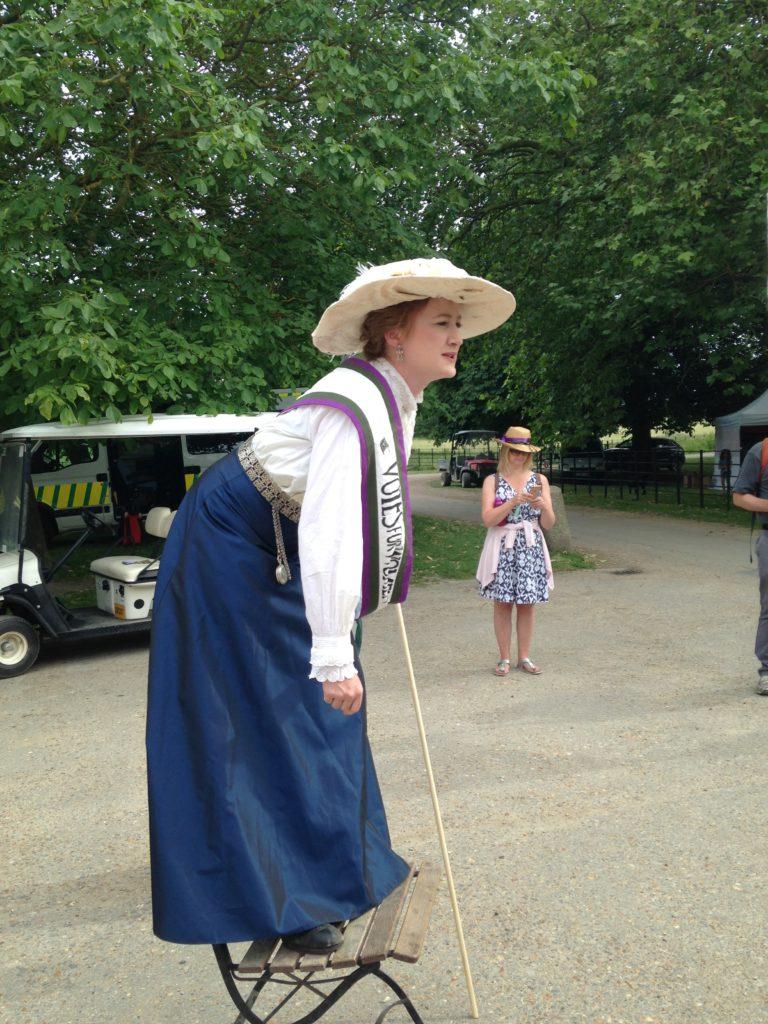 Wimpole History Festival Suffragette Speaks