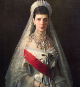 Maria Feodorovna by Ivan Kramskoi, circa 1881