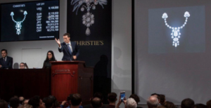 Jewelry Auction at Christie's New York